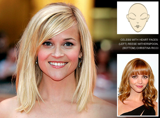 Stupendous Hairstyles For Heart Shaped Faces Do39S And Dont39S Short Hairstyles Gunalazisus