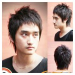 japanese hairstyles - men - Shabby regular