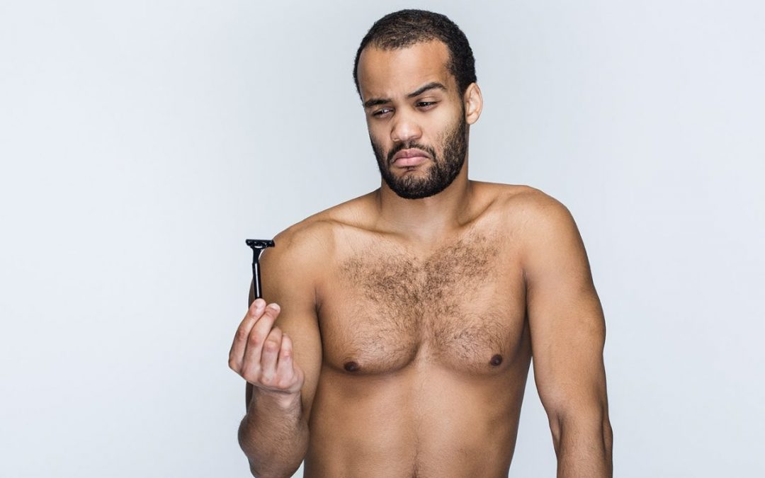 Do men needs hair removal?