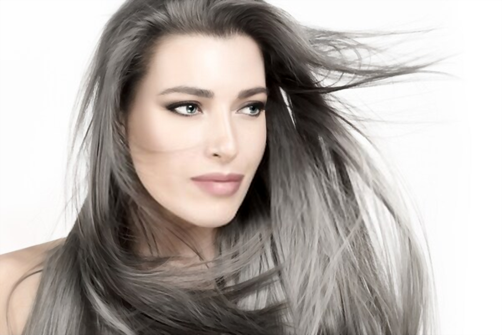 how to enhance gray hair